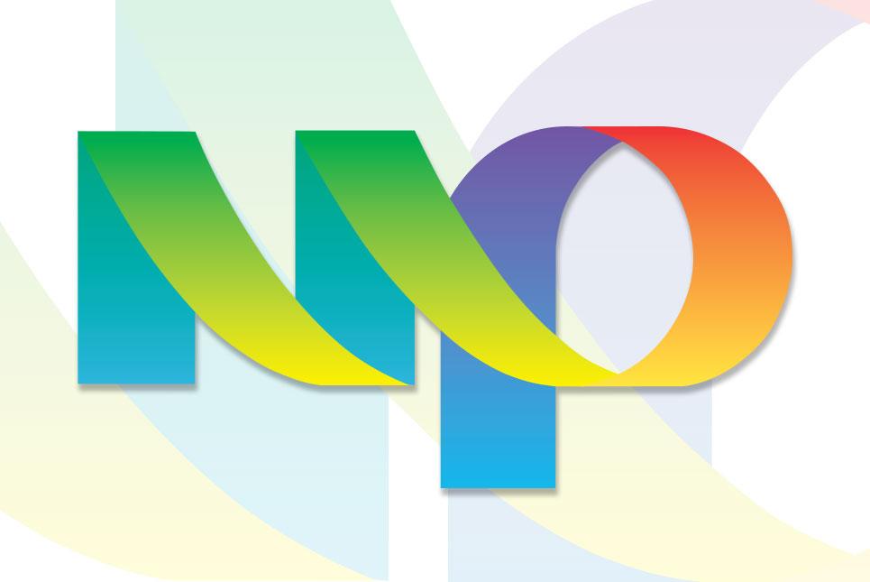 multicolor printing logo