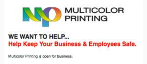 multicolor printing stuart fl covid-19 help